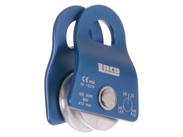 LACD Single Pulley Mobile Petit bleu